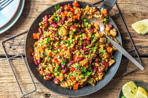 Veggie-Loaded Spanish Paella image