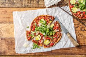 Veggie & Double Cheese Pizza image