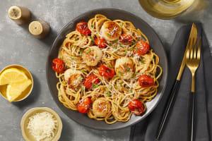 Venetian Scallop Spaghetti image
