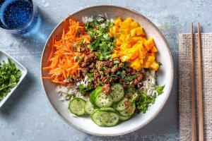 Vietnamesisk inspireret oksekød image