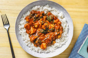 Vindaloo Style Chicken Curry image