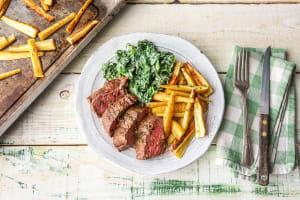 Butter-Basted Sirloin Steak image