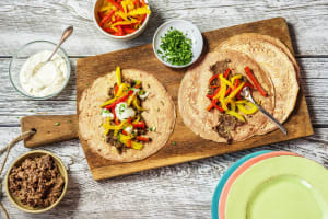 Peppy Pepper Fajitas image