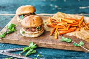 Lemongrass Pork Burgers image