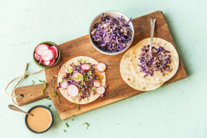 Moo Shu Pork Tacos image