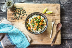 Sweet Potato Chickpea Curry image
