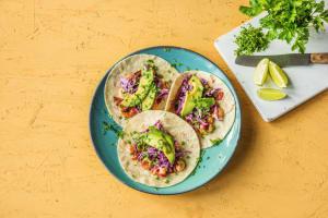 Honey Lime Shrimp Tacos image