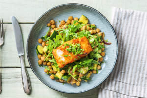 Spanish-Style Cod with Chickpeas image