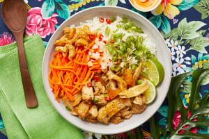 Hawaiian Chicken Poke Bowls image