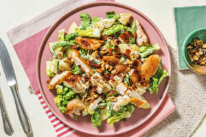 Waldorf Salad Style Salad with Chicken and Bacon image