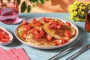 White Chocolate Chip Pancakes image
