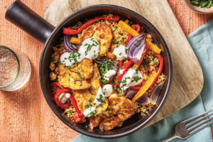 Moroccan Spiced Haloumi & Herbed Couscous image
