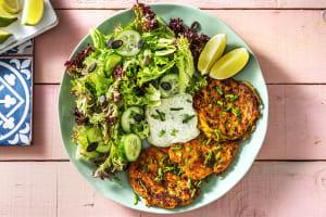 Zucchini-Käse-Puffer image