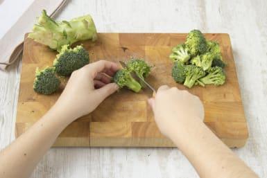 Zubereitung des Brokkoli