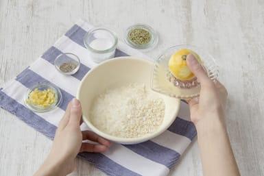Prepare the mixture