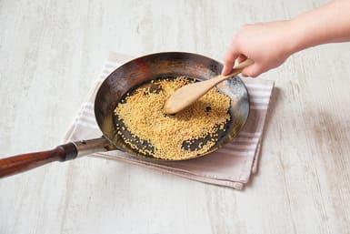Cook fregula sarda
