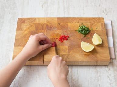 Chili schneiden