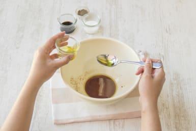 Make the vinaigrette