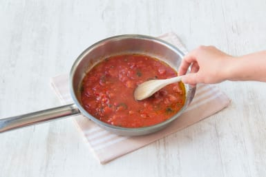 simmer your sauce