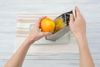 Zest your orange