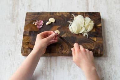 Peel your garlic