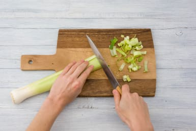 Chop your leek