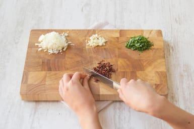 Prepare your veggies