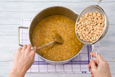 Add the beans