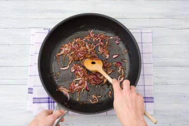 Caramelize the onions
