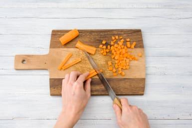 Chop your carrots