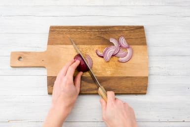 Slice your onion