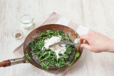 Stir in sour cream