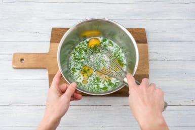 Create the egg mixture