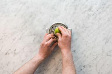 Limette pressen