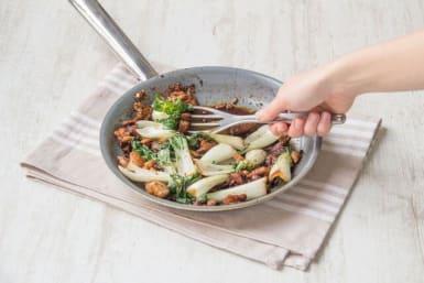 Finish the stir-fry