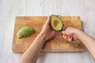 Make the avocado-lime crema