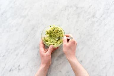 Make the guacamole