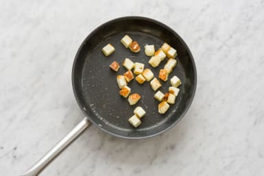 Cook the paneer