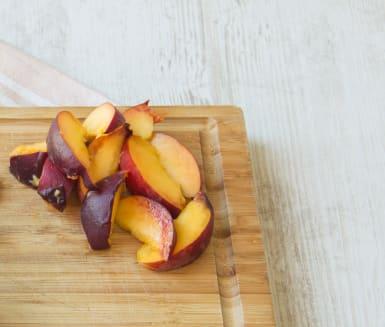 Prep the peach