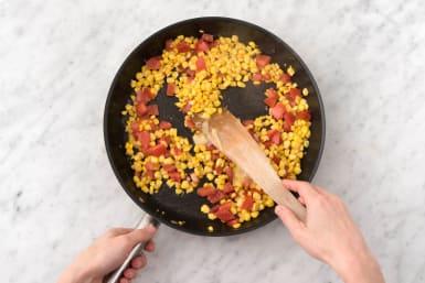 Make the corn relish