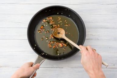 Cook the chilli oil