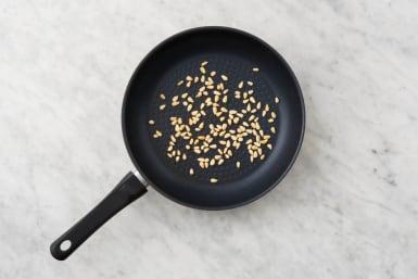 1 TOAST PINE NUTS