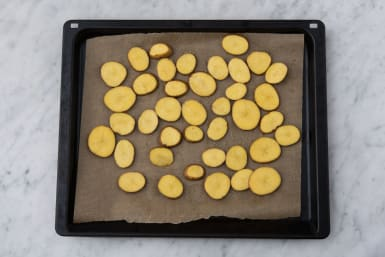 Bake the potato