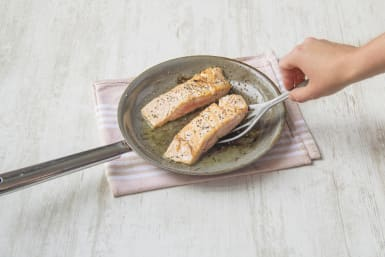 Cook the trout