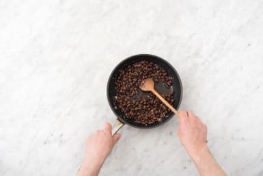 Crisp the beans
