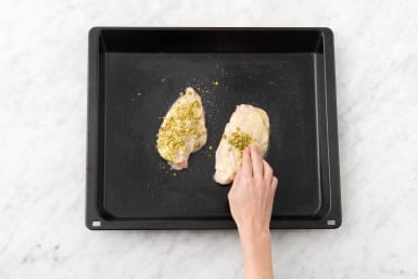 Prep and Bake Chicken