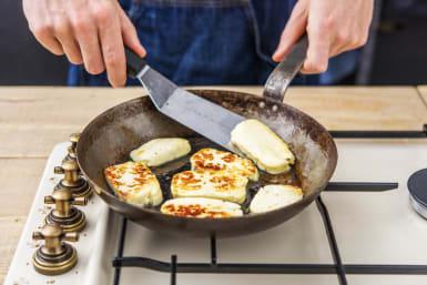 Cook the Halloumi