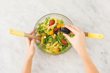 Salade op smaak brengen