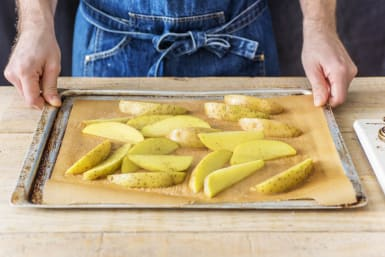 Bake the Wedges