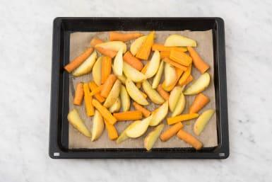 Groenten in de oven